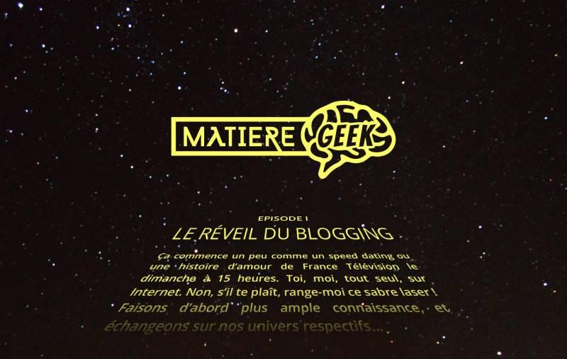 Le reveil du blogging !